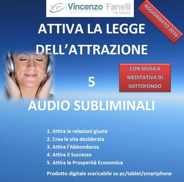 cover ATTIVA LEGGE DELL'ATTRAZIONE m