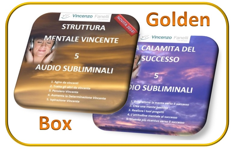 cover mente vincente golden box