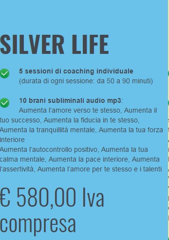 COVER SILVER LIFE